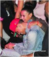 New Couple Alert: chris brown and mystery date at The Velvet Room