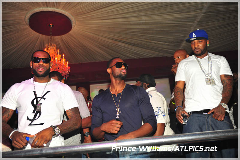 LeBron, D Wade and Jeezy