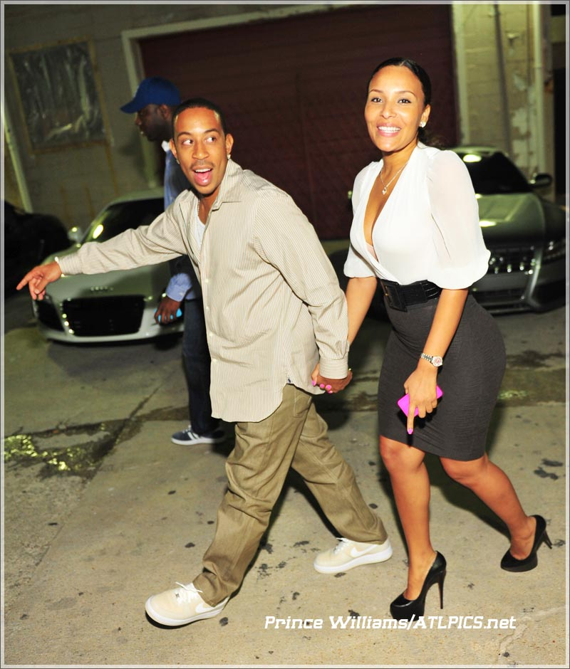 Ludacris And Fab At Compound Nightclub Sandra Rose