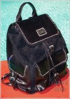 Louis Stewart Collection Rockstar backpack with Swarovski Crystals