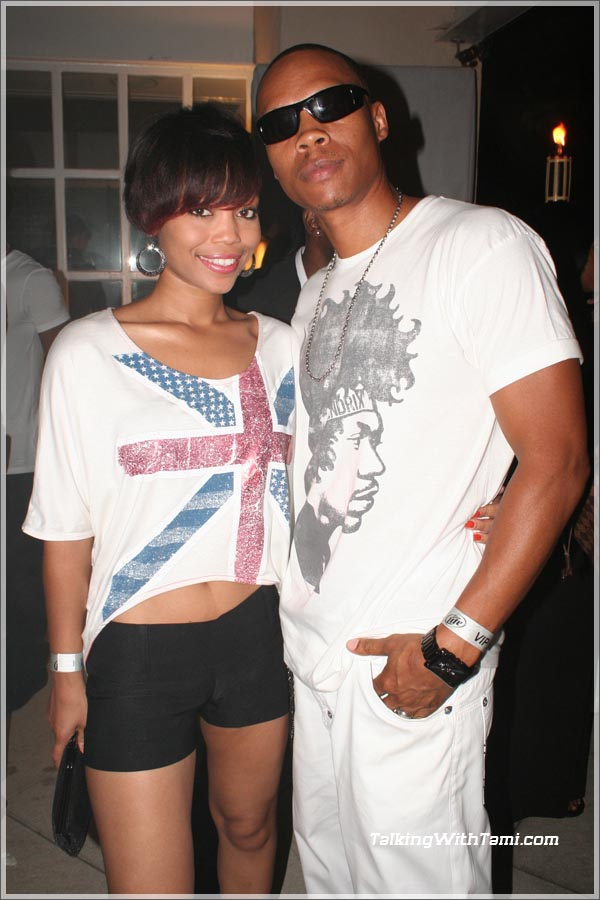 Ron Devoe (New Edition) and his wife Shamari Fears
