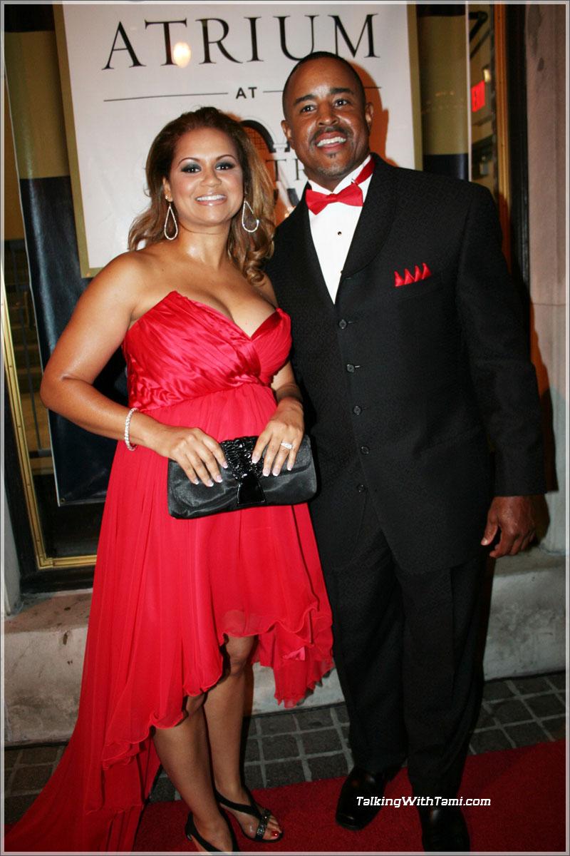 Brian Jordan and wife | Sandra Rose