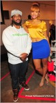 Polow Da Don and friend at Celebration 4 A Cure: Where Music Meets Fashion For A Cause