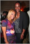 Artist manager and music executive Phillana Williams and newly appointed head of Motown Records, Ethiopia Habtemariam