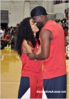 Teyana Taylor and Lance Gross