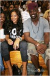 Angela Simmons and her man Lance Gross