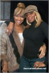 Mary J. Blige Attends Her Afterparty At Luckie Lounge