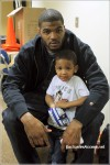 Hawks Josh Smith and son