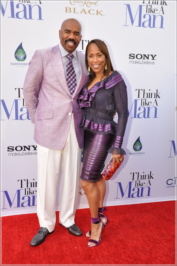 Steve Harvey and wife Marjorie