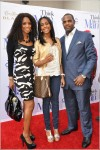 Tasha Smith and family