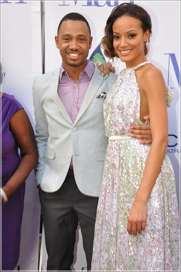 Terrence J and Selita Ebanks | Sandra Rose
