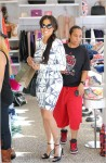 La La Anthony shopping in Beverly Hills