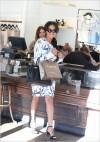 La La Anthony shopping in Beverly Hills