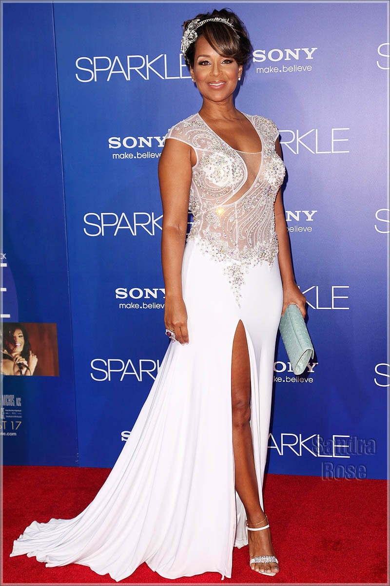 lisaraye mccoy attended the los angeles premiere of