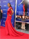 Tika Sumpter attended the Los Angeles Premiere of Sparkle