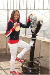 Allyson Felix in NYC