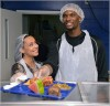 Chris Bosh and Adrienne Bosh