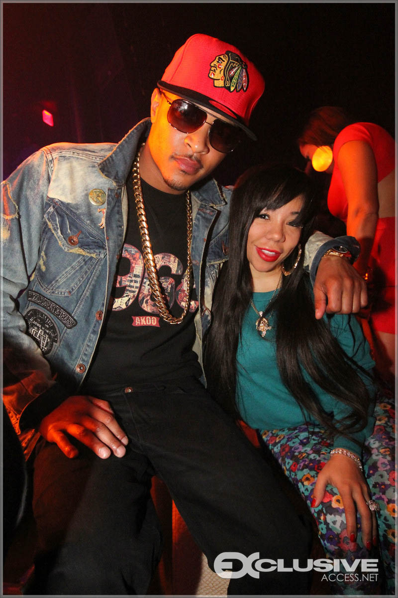 T.I. and Tiny at Liv in Miami