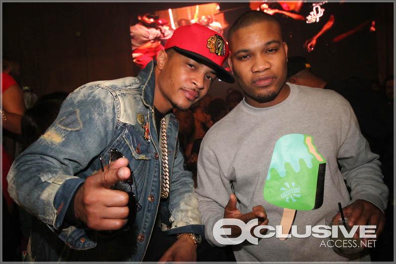 T.I. and DJ MLK at Liv