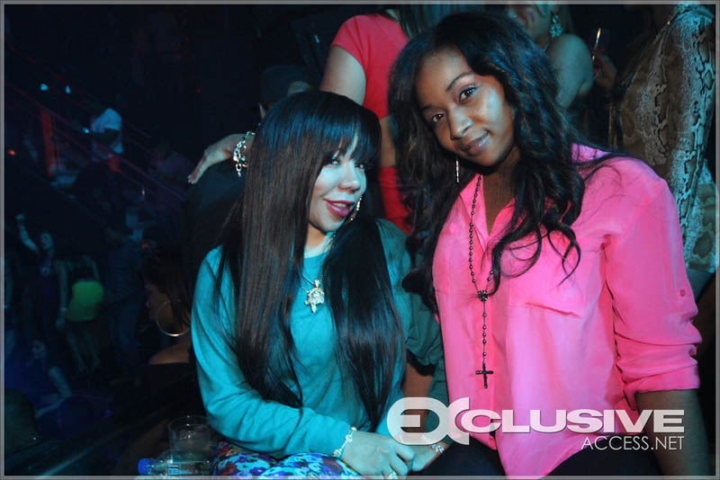 Tiny and guest at Liv in Miami