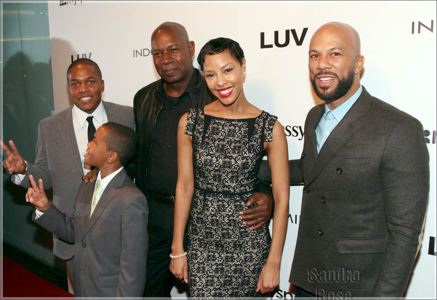 Common and cast attend LUV Premiere in Los Angeles