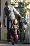 Gabriel Aubry and daughter Nahla