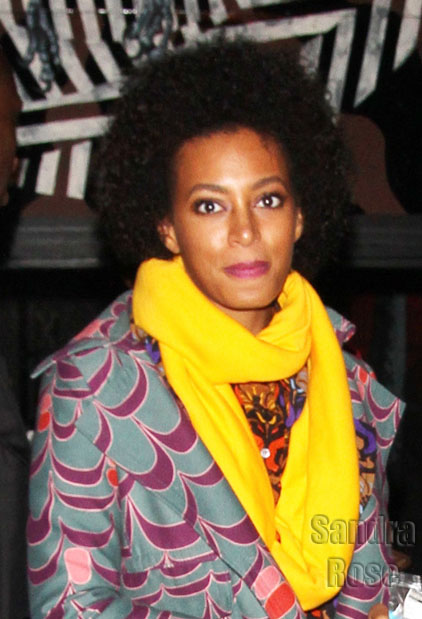 Solange Knowles at XOYO in London