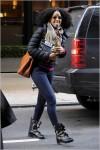 Kelly Rowland Leaving Manhattan Hotel