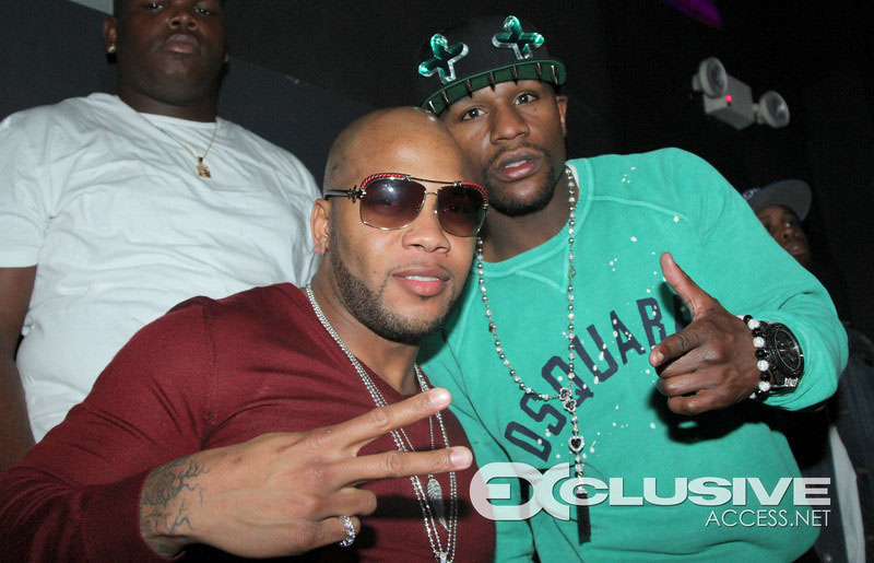 Flo Rida and Floyd Mayweather