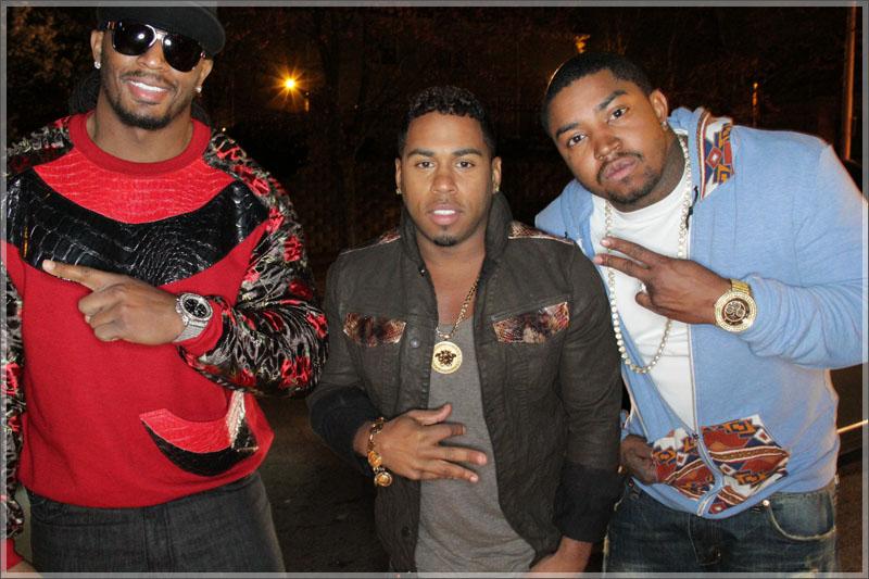 """Omar """"Slimm"""" White, Bobby V, and Lil Scrappy"""