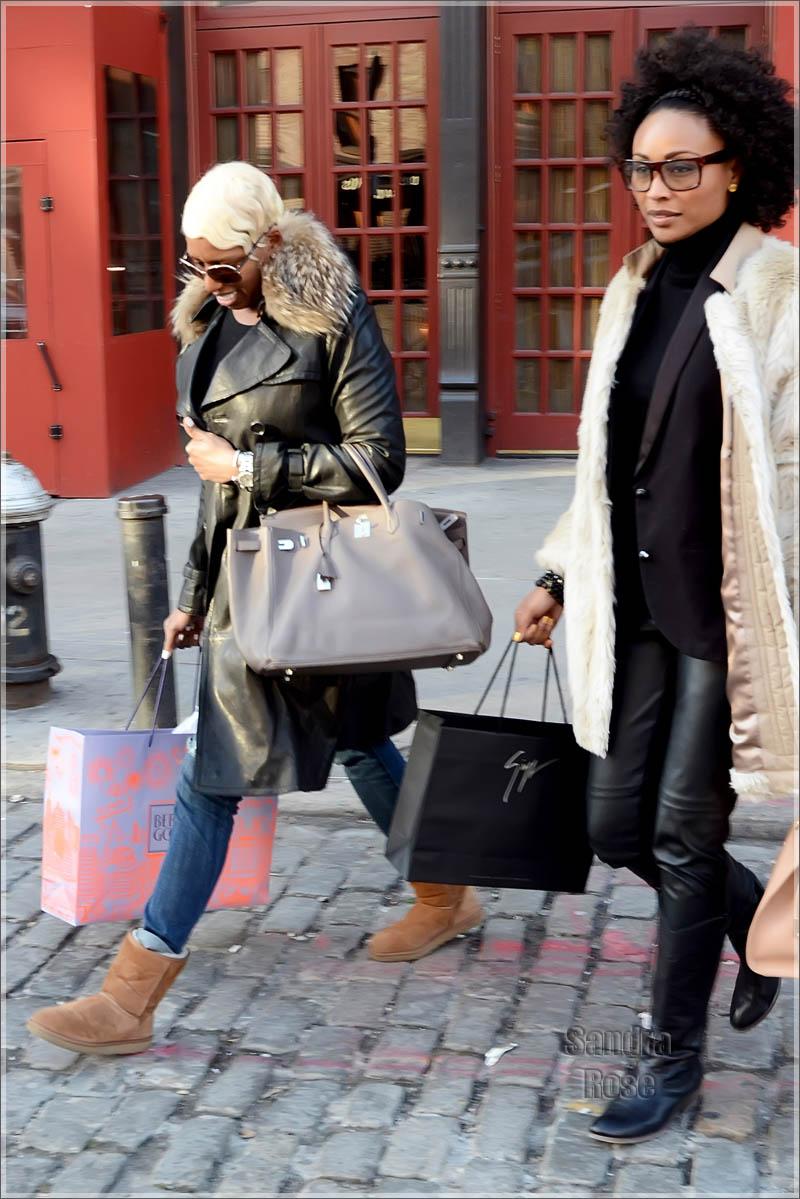 NeNe Leakes and Cynthia Bailey