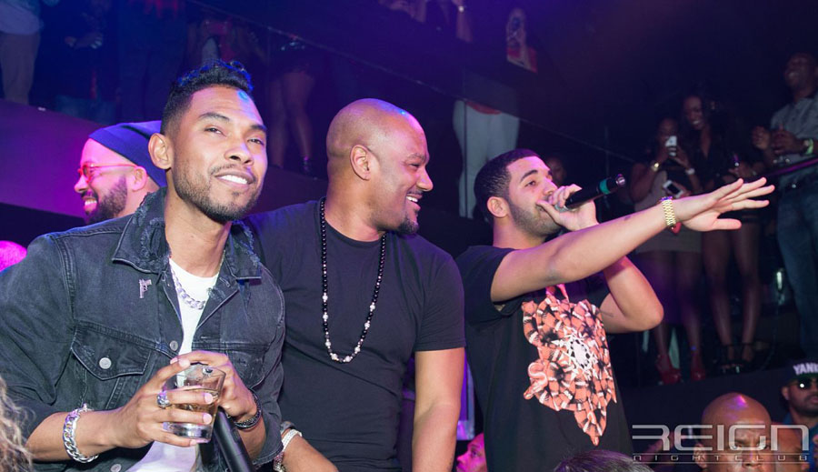 Miguel, Big Tigger and Drake