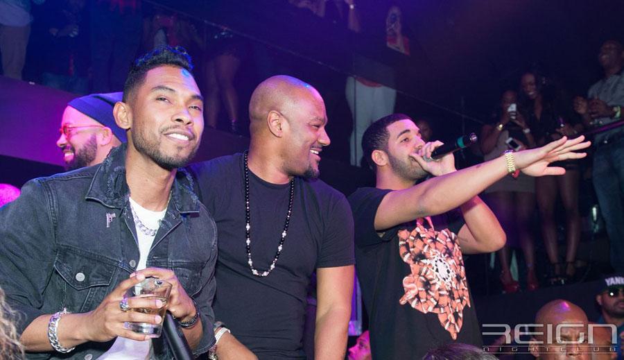 Miguel, Big Tigger and Drake
