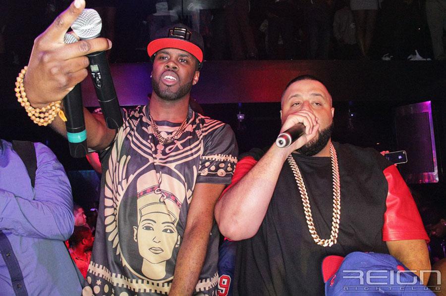 DJ Khaled and Vado at REIGN Fridays