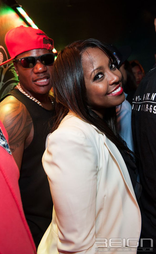 Sean Garrett and Keshia Knight Pulliam at REIGN Fridays