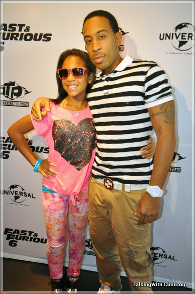 Ludacris And Daughter Karma Sandra Rose