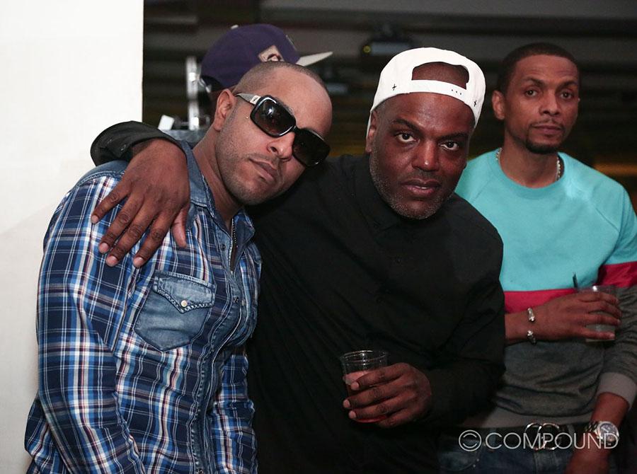Trinidad James, Verse Simmonds, Bobby V at COMPOUND