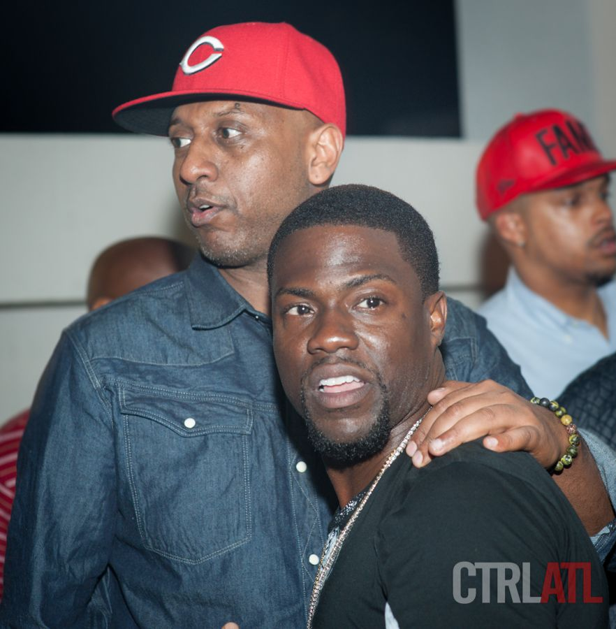 Kevin Hart Meek Mill Don Cannon at Compound Nightclub