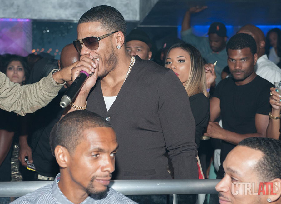 Nelly at Prive Nightclub