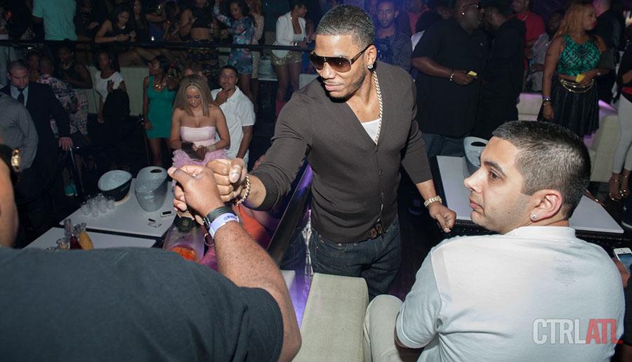 Nelly at Prive Nightclub