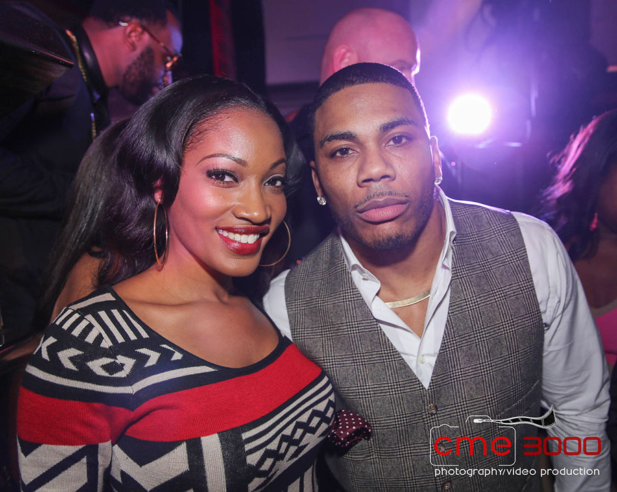 Erica Dixon and Nelly