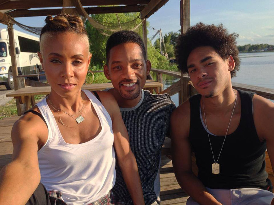 Jada Pinkett-Smith, Will Smith, Trey Smith