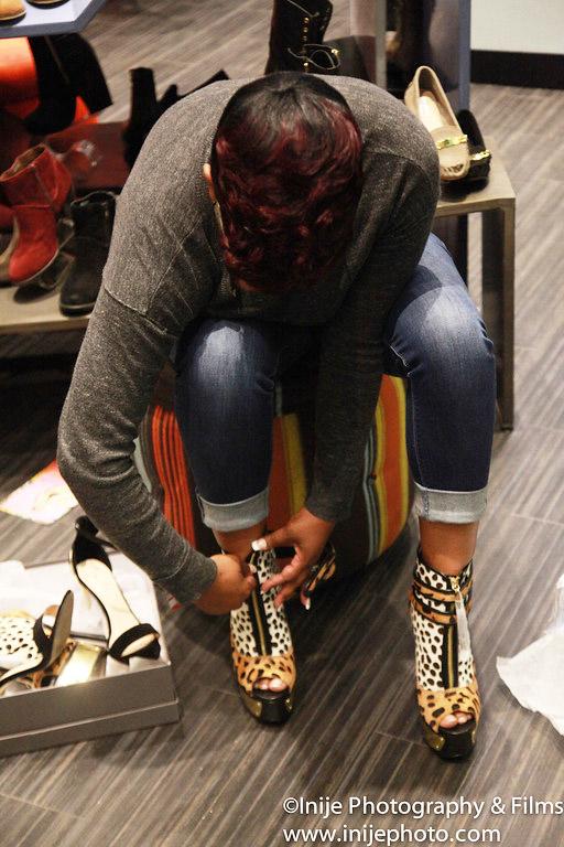 Keyshia Cole Kc Steve Madden Shoe Meet And Greet Sandra Rose