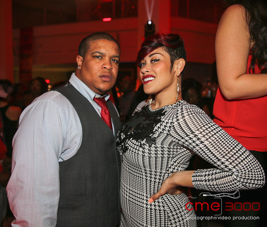 Keke Wyatt and Michael Ford