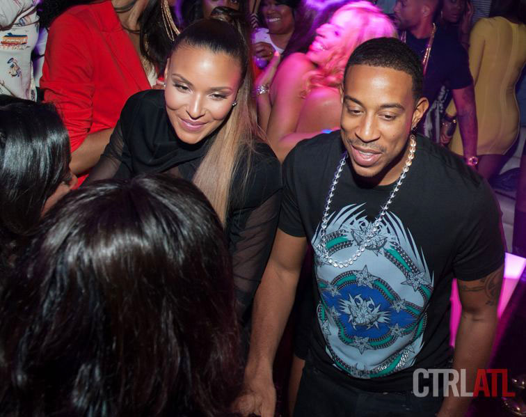 Ludacris, Future, Raven-Symone, Tristan Wilds, Laranz Tate, and Tahiry at PRIVÉ