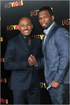 50 Cent and Romany Malco