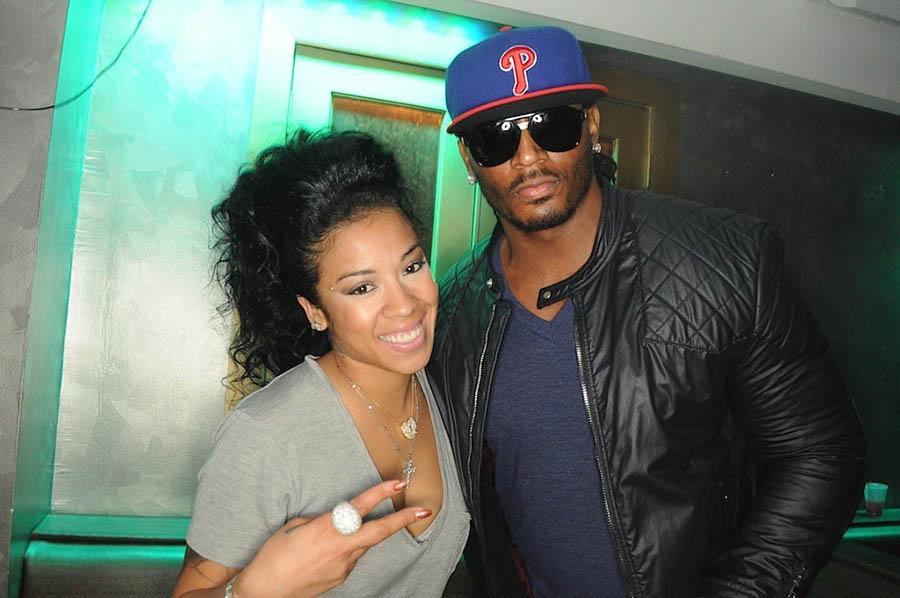 Keyshia Cole at Krave Lounge in Atlanta