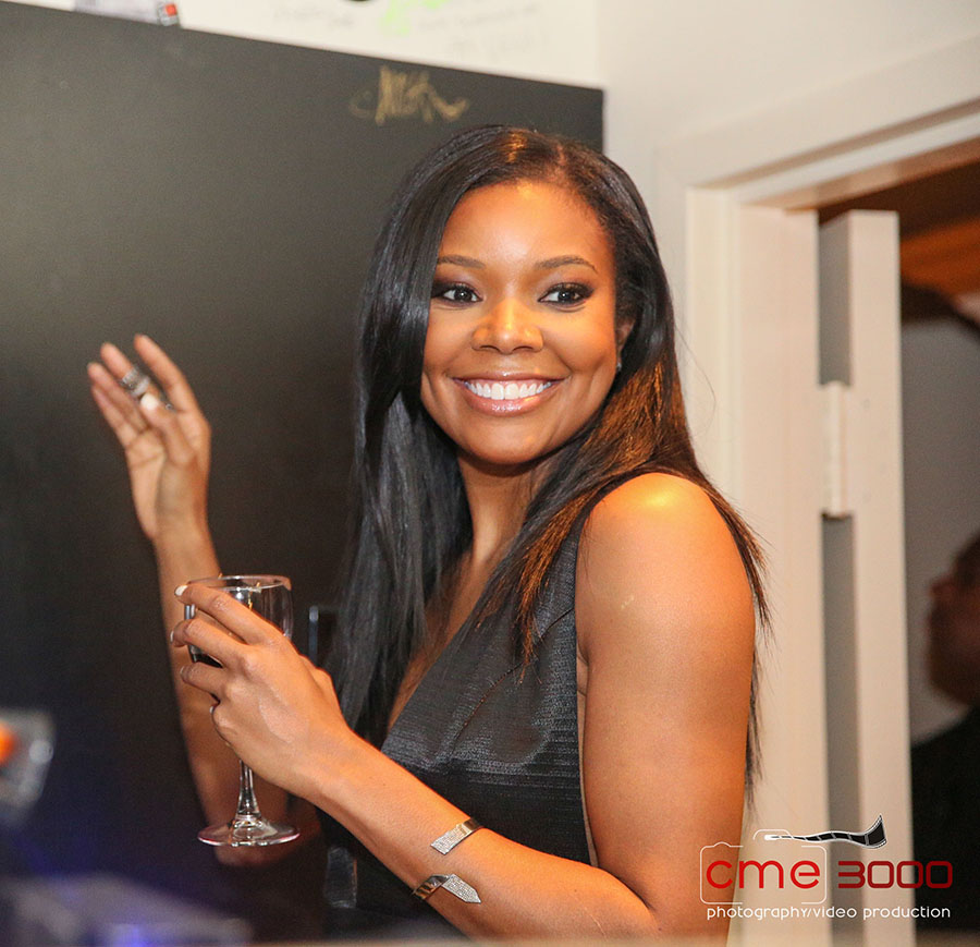 Gabrielle Union hosts Being Mary Jane wrap party in Atlanta. Photos by Chris Mitchell CME 3000