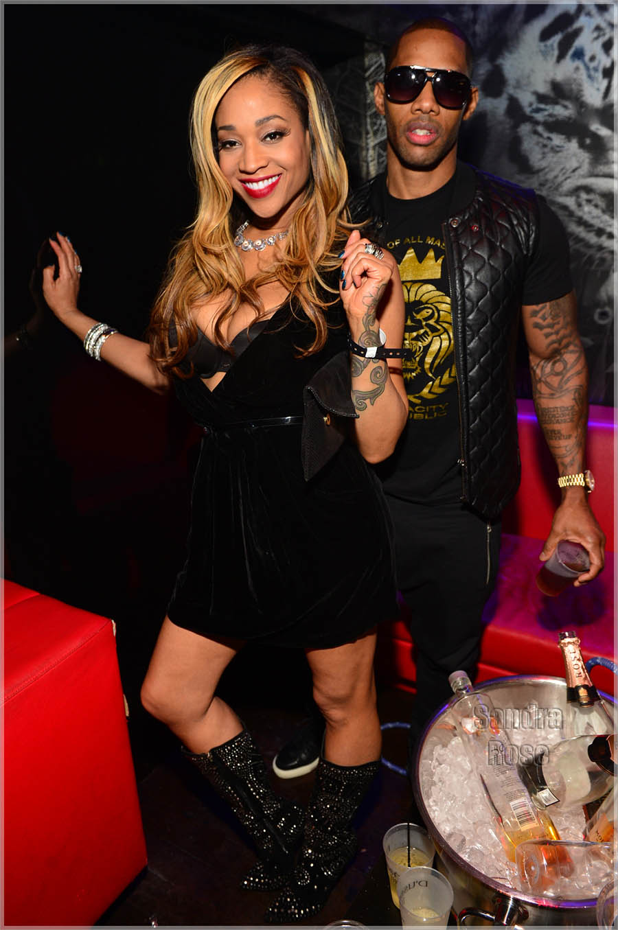 Mimi Faust And Nikko Photo By Atlpics Net Sandra Rose