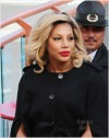 Tamar Braxton appears on Extra